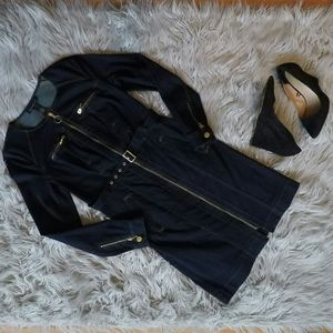 Inc Elegent Jean Jacket Size 4